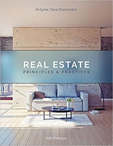 (Jan 2018) Real Estate Principles & Practices Class